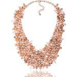 Náhrdelník s perly, krystaly a kamínky NK0262-0317