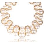 Náhrdelník perlový pevný ke krku NK0106-0314