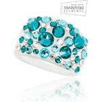 Prsten Bubble akryl Swarovski elements PR0068-145315
