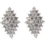 Náušnice kosočtverce s krystalky NE0597-0312