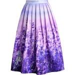 Chicwish dámská sukně midi LEVANDULOVÁ ROMANCE velikost oblečení: M