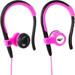 Sluchátka Everlast Sport růžová