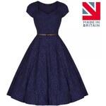Dámské šaty Lindy Bop Victoria modré