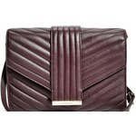 Guess by Marciano Kožená kabelka Mila Quilted Cross-Body