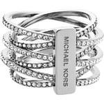 Prsten Michael Kors silver tone MKJ4423