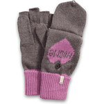 Esprit 2-in-1 knitted gloves with a heart motif