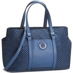 Kabelka TOMMY HILFIGER - Easy Nylon Tote Flock AW0AW03459 902