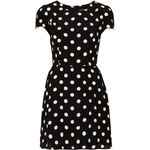 Topshop Polka Dot Flippy Dress