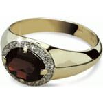 Danfil Luxusní zlatý prsten DF1892z