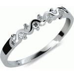 Danfil Originální zásnubní prsten DF2086b