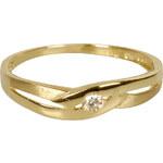 Danfil Krásný prsten s diamantem DF1776z