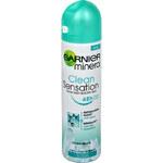 Garnier Minerální deodorant Clean Sensation ve spreji pro ženy 150 ml