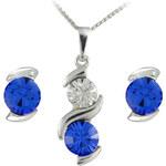 MHM Souprava šperků Sisi Sapphire 34148