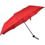 s.Oliver Dámský skládací mechanický deštník Fruit Cocktail - červený 70801SO100
