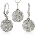 MHM Souprava šperků Kuličky M5 Crystal 34157