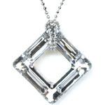 Troli Náhrdelník Cosmic Square Crystal