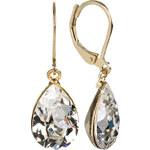 Troli Náušnice Pear Crystal