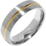 Silvego Snubní ocelový prsten pro muže PARIS RRC2048-M