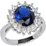 Silvego Stříbrný prsten princezny Kate TXR903091