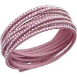 Swarovski Náramek Slake Pink 5030100