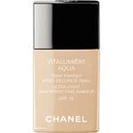 Chanel Rozjasňující hydratační make-up Vitalumiere Aqua SPF 15 (Ultra-Light Skin Perfecting Sunscreen Makeup) 30 ml