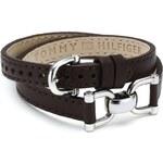 Tommy Hilfiger Hnědý kožený náramek TH2700253