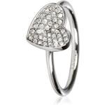 DKNY Ocelový prsten se srdíčkem NJ1995040