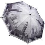 Blooming Brollies Skládací plně automatický deštník Galleria London City Scene GCFLON