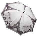 Blooming Brollies Holový vystřelovací deštník Galleria Paris City Scene GCSPAR