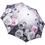 Blooming Brollies Dámský skládací plně automatický deštník Galleria Antique Rose Floral GFFAR
