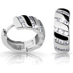Danfil Krásné náušnice s diamanty DF2099b