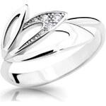 Danfil Něžný prsten s diamanty DF2231b