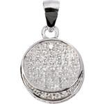 Beneto Třpytivý stříbrný přívěsek AGH18
