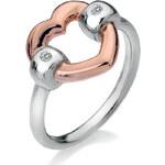 Hot Diamonds Prsten Just Add Love Open Heart DR130