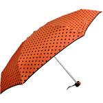 Doppler Dámský skládací mechanický deštník Lolita Mini - oranžový 710165D-1