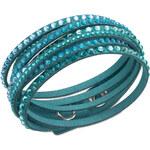 Swarovski Náramek Slake Deluxe Light Turquoise 5043496