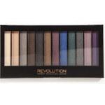 Makeup Revolution Paletka očních stínů Hot Smoked