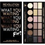 Makeup Revolution Paletka očních stínů What You Waiting For?