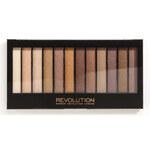 Makeup Revolution Paletka třpytivých očních stínů Essential Shimmers