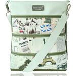 Dara bags Crossbody kabelka Dariana Big No. 1281 Paris Verte