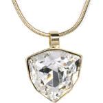 Troli Zlatý náhrdelník Trilliant Crystal