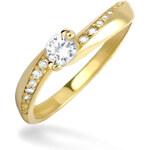Brilio Dámský prsten s krystaly 229 001 00449