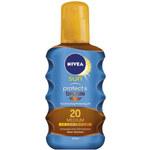 Nivea Olej na opalování ve spreji podporující zhnědnutí SPF 20 Sun (Protect & Bronze Oil) 200 ml