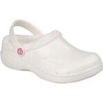 Coqui Bílé dámské zateplené pantofle 9721 Pearl
