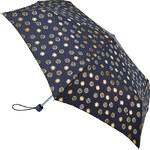 Fulton Dámský skládací mechanický deštník Superslim 2 Foil Flowers L553-3