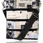Dara bags Crossbody kabelka Dariana middle No. 1253 I Love Paris