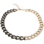 Beneto Masivní zlatočerný náhrdelník BBR75