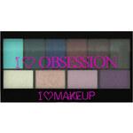 Makeup Revolution Paletka 10 očních stínů Divoká I LOVE MAKEUP (Obsession Palette Wild Is The Wind) 17 g