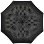 Doppler Dámský skládací mechanický deštník Twist - černý 722365T
