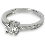 Silver Cat Stříbrný prsten s krystaly SC031